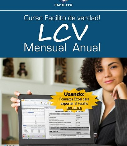LCV Mensual y Anual Facilito course image