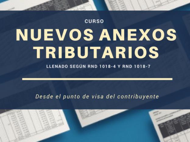 15 Nuevos Anexos Tributarios course image