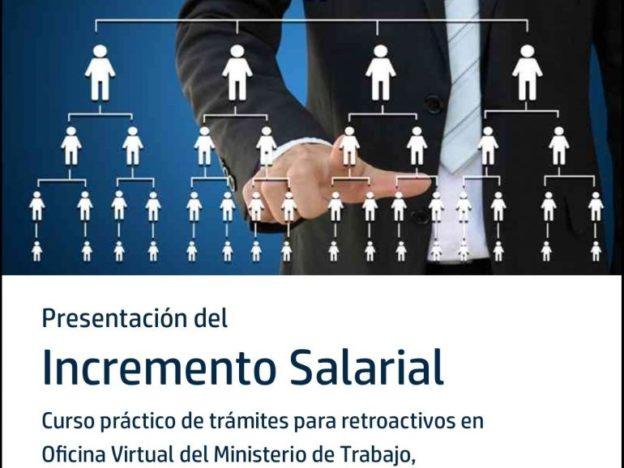 Presentación Incremento Salarial 2017 course image