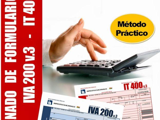 Llenado Formularios IVA 200 e IT 400 V3 course image
