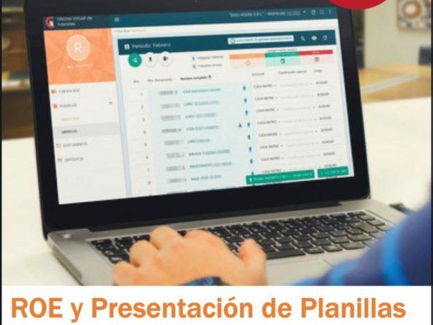 ROE y Presentación Planillas Mensuales (Min. Trabajo) course image